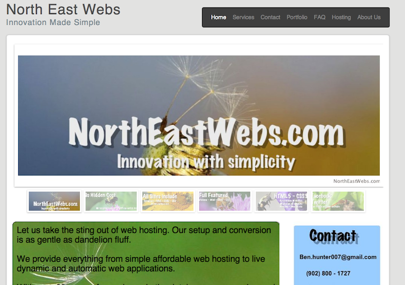 Custom websites at great prices.